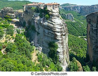 Meteora rocky monasteries - The Meteora - important rocky ...