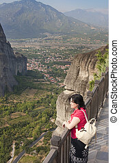meteora travel - view of the meteora monasteries monuments ...