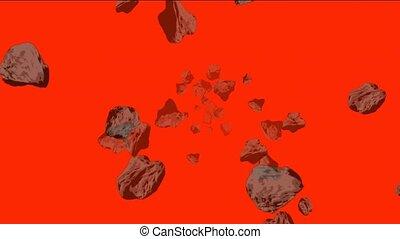 Meteorite and stone tumbling