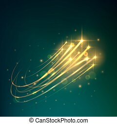 meteoro, céu, chuveiro, estrelas, noturna, tiroteio, ícone