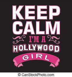 meteorológiai jelentésadás kötelező az, girl., hollywood, tart, csendes, jó, nyomtat