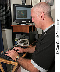 meteorolog, computer