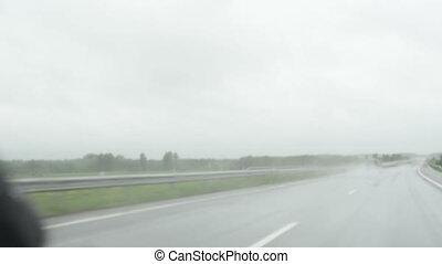 meteorologiczny warunek, deszcz
