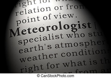 meteorologist, definição