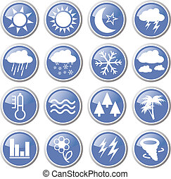 meteorology icons
