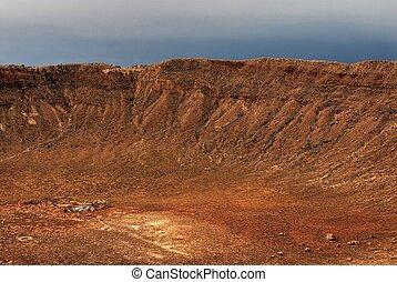 meteorowy krater