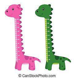 meter wall dinosaur
