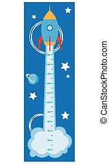 meter wall rocket