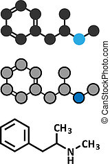 Methamphetamine (crystal meth, methamfetamine) stimulant...