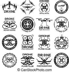 metraggio, fuco, emblemi