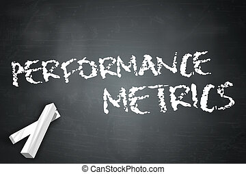 metrics, pizarra, rendimiento
