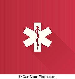 Metro Icon - Medical symbol