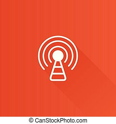 Metro Icon - Podcast - Podcast icon in Metro user interface...