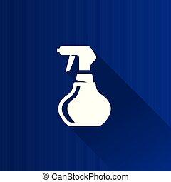 Metro Icon - Sprayer - Sprayer icon in Metro user interface...