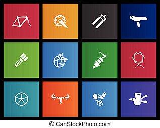 Metro Icons - Bicycle Parts