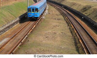 Metro in Kiev, Ukraine