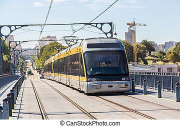 Metro in Porto, Portugal