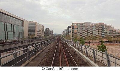 Metro journey view