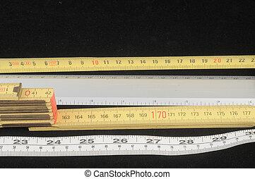 metro, medida, método
