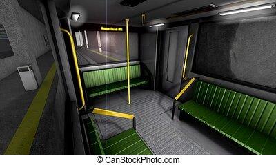 metro, pociąg