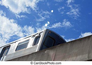 Metro Rail background