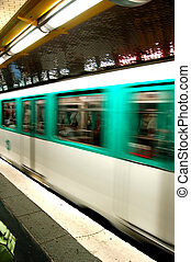 metro, ruch
