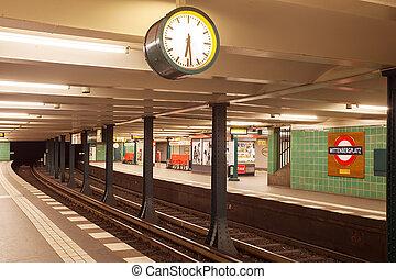 Metro station wittenbergplatz in berlin - Metro station ...