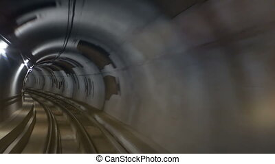 Metro tunnel speed train - Automated guideway transit...