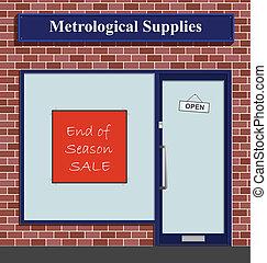 Metrological Supplies - The Metrological Supplies shop has...
