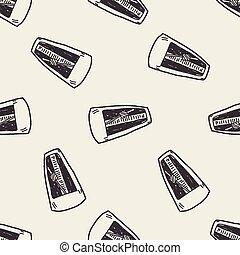 Metronome doodle