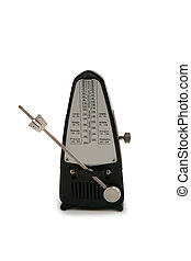 Metronome isolated on white