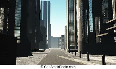 Metropolis 15 - Metropolis - 3D animation