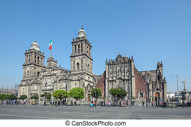 Metropolitan Cathedral of the Assumption of Mary of Mexico...