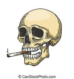 Rögtönzött dohányzó pipa - Gyakran megpróbálta leszokni a dohányzásról