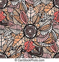 mette foglie, autunno