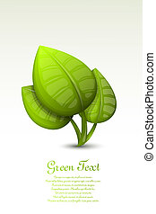 mette foglie, verde