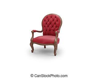 meubel, koninklijk, antieke