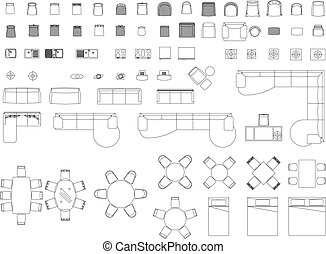 meubles, blocs