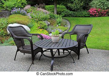 meubles patio