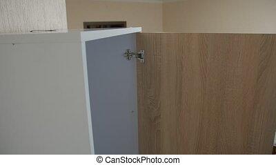 meubles, sur, protection, pointe
