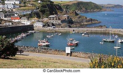Mevagissey Cornwall England UK - Mevagissey Cornwall England...