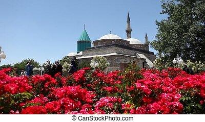 mevlana museum - Anatolian city of Konya Mevlana Museum,...