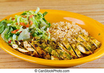 mexičan, restaurace, strava