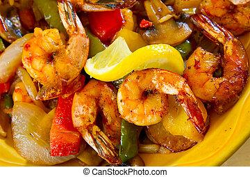 mexicaanse , restaurant, voedingsmiddelen