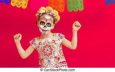 mexicain, mort, jour