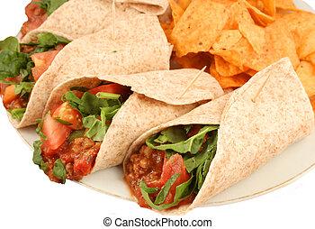 mexicain nourriture, coloré