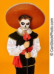 mexicain, samedi, baron