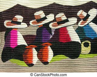 mexicain, tapisserie
