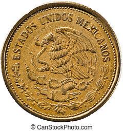 Mexican 100 Pesos Coin, (Aluminum Bronze)