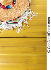 Mexican background with copy space